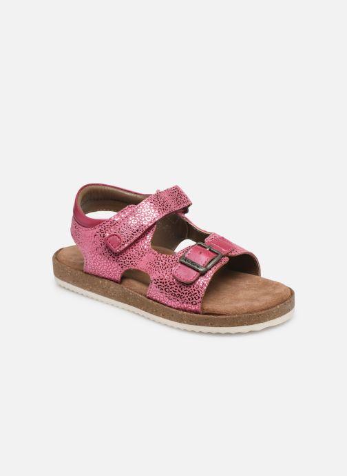 Sandales et nu-pieds Kickers Funkyo Rose vue détail/paire