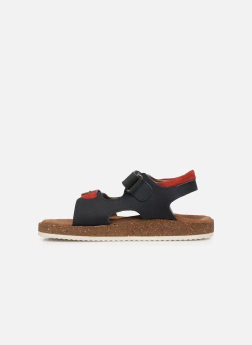 Sandales et nu-pieds Kickers Funkyo Bleu vue face