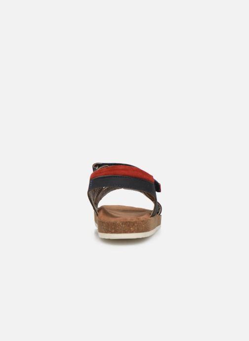 Sandales et nu-pieds Kickers Funkyo Bleu vue droite