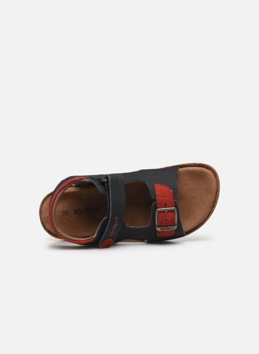 Sandales et nu-pieds Kickers Funkyo Bleu vue gauche