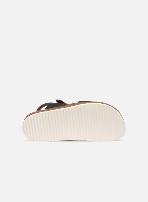 Sandales et nu-pieds Kickers Funkyo Bleu vue haut