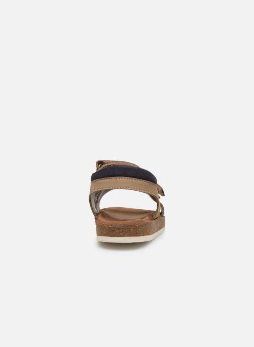 Sandales et nu-pieds Kickers Funkyo Beige vue droite