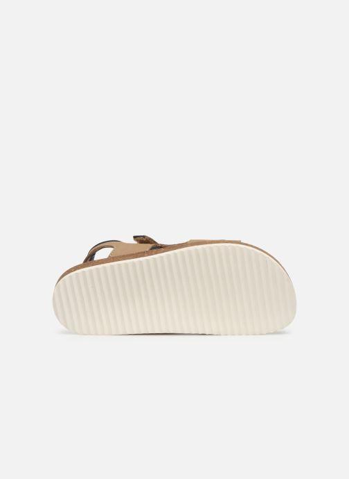 Sandales et nu-pieds Kickers Funkyo Beige vue haut