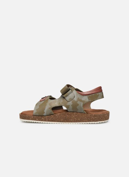 Sandales et nu-pieds Kickers Funkyo Vert vue face