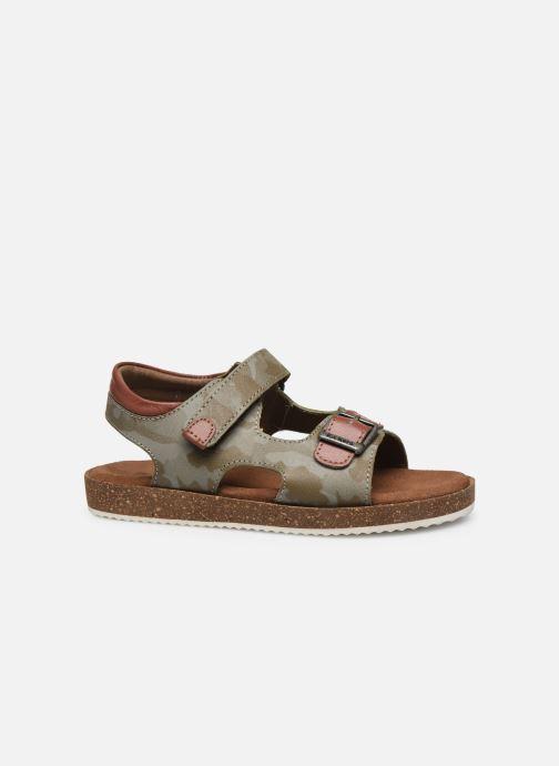 Sandales et nu-pieds Kickers Funkyo Vert vue derrière