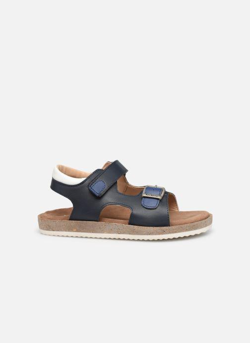 Sandalen Kickers Funkyo blau ansicht von hinten