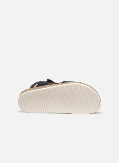 Sandalen Kickers Funkyo blau ansicht von oben