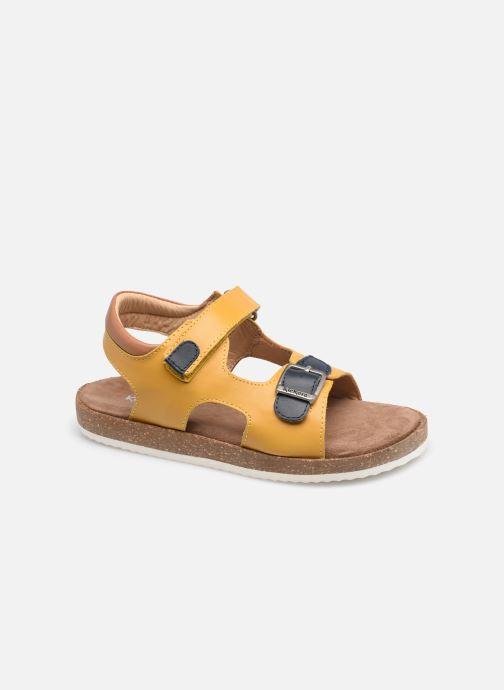 Sandalen Kickers Funkyo gelb detaillierte ansicht/modell