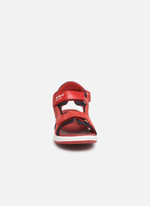 Sandalen Kickers Plane Rood model