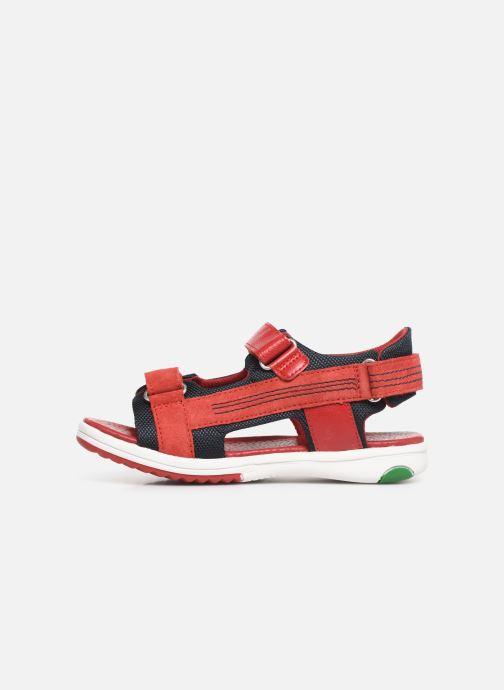 Sandali e scarpe aperte Kickers Plane Rosso immagine frontale
