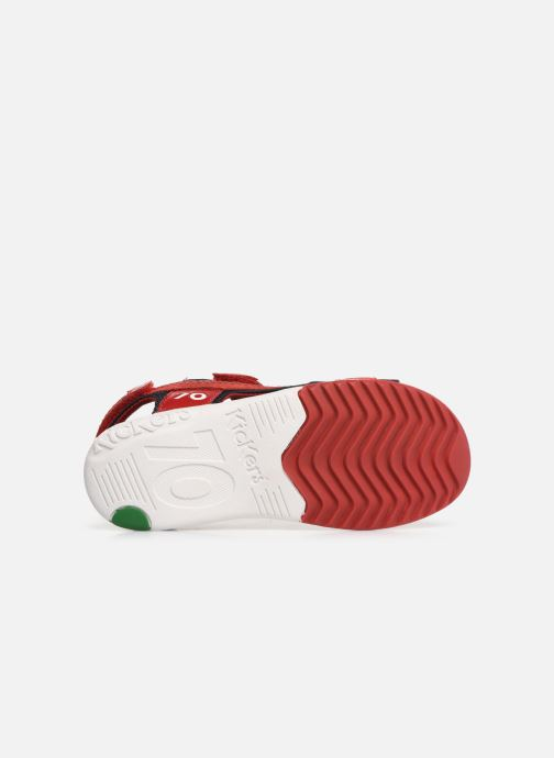 Sandali e scarpe aperte Kickers Plane Rosso immagine dall'alto