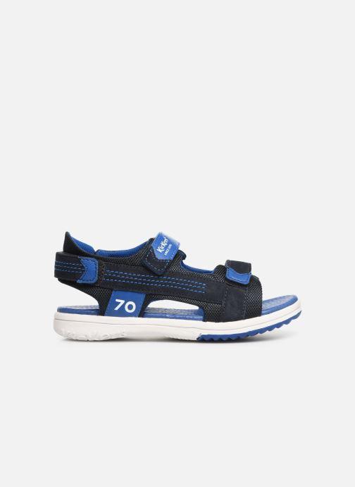 Sandales et nu-pieds Kickers Plane Bleu vue derrière