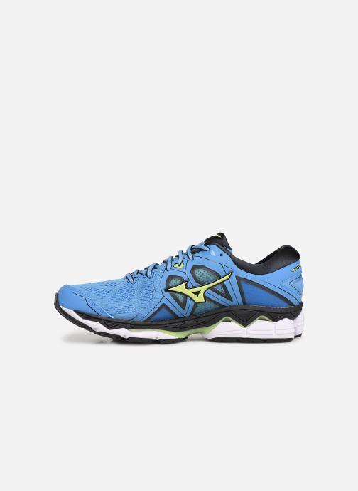 Chaussures de sport Mizuno Wave Sky 2 Bleu vue face