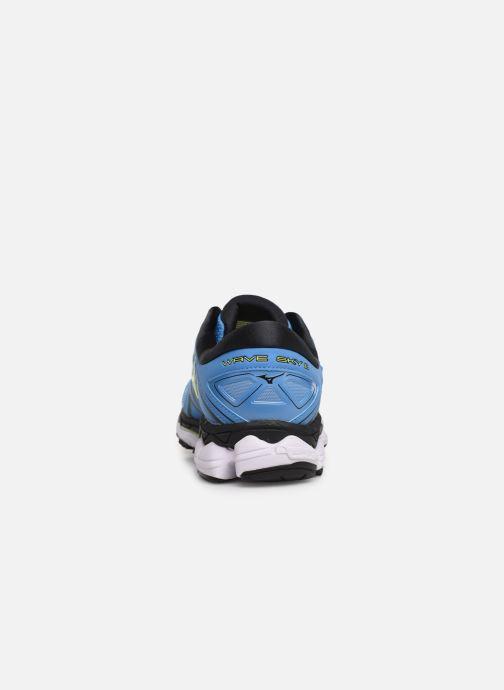 Chaussures de sport Mizuno Wave Sky 2 Bleu vue droite