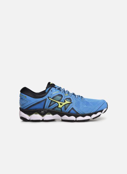 Chaussures de sport Mizuno Wave Sky 2 Bleu vue derrière