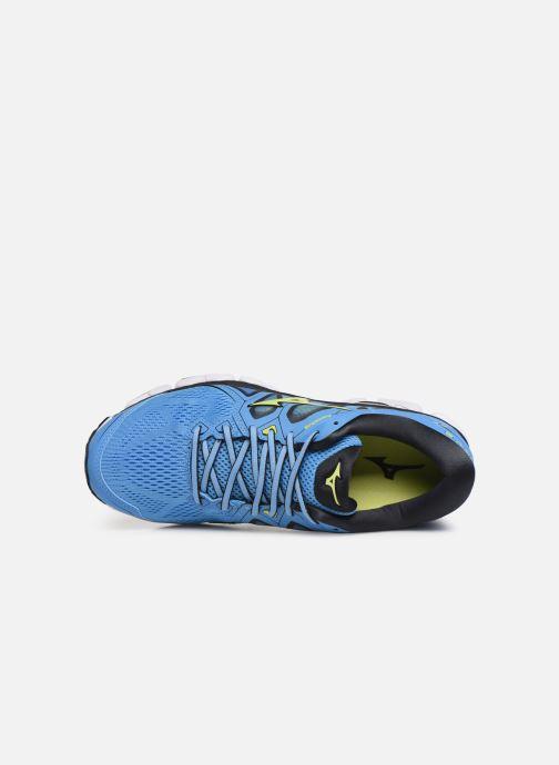 Chaussures de sport Mizuno Wave Sky 2 Bleu vue gauche