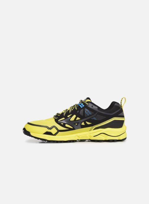 Chaussures de sport Mizuno Wave Daichi 4 Jaune vue face