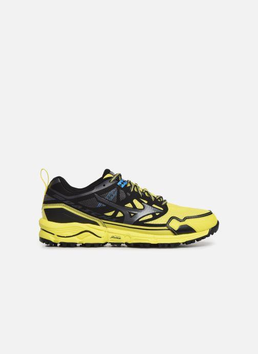 Chaussures de sport Mizuno Wave Daichi 4 Jaune vue derrière