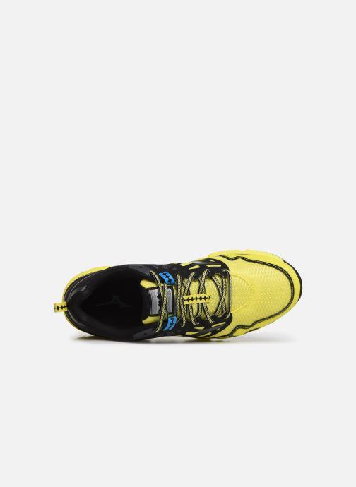 Chaussures de sport Mizuno Wave Daichi 4 Jaune vue gauche