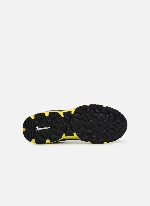 Chaussures de sport Mizuno Wave Daichi 4 Jaune vue haut