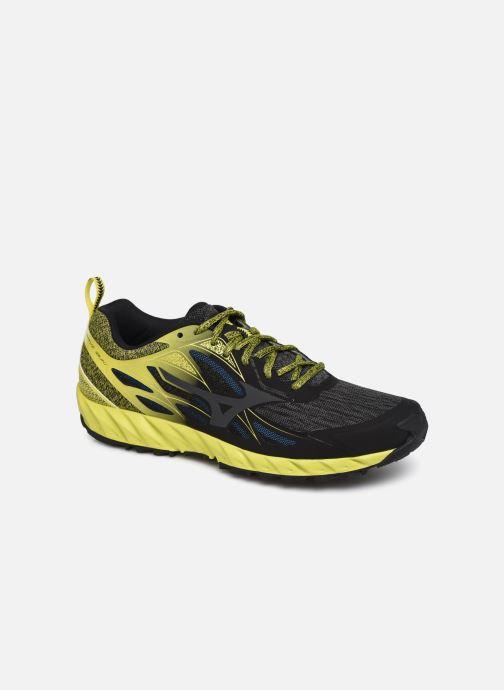 Chaussures de sport Mizuno Wave Ibuki Noir vue détail/paire