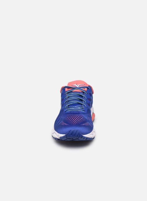 Chaussures de sport Mizuno Wave Ultima 11 - W Bleu vue portées chaussures