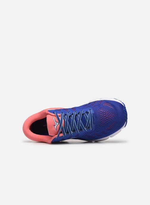 Zapatillas de deporte Mizuno Wave Ultima 11 - W Azul vista lateral izquierda