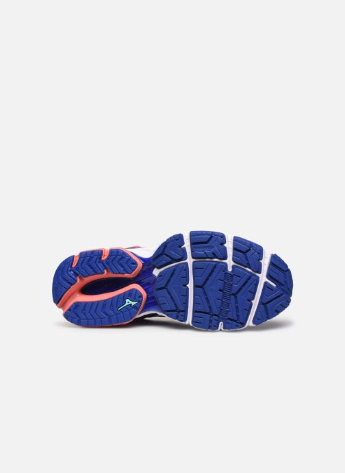 Chaussures de sport Mizuno Wave Ultima 11 - W Bleu vue haut