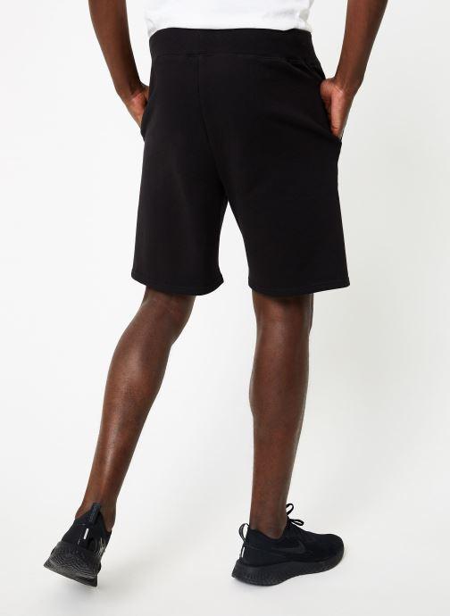 Vêtements Diadora Bermuda Bl Noir vue portées chaussures