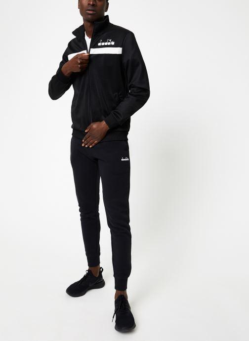 Vêtements Diadora Pant 5Palle Noir vue bas / vue portée sac