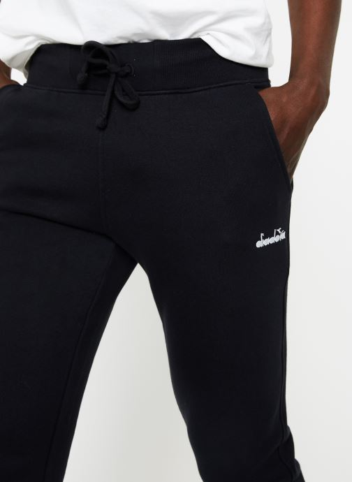 Kleding Diadora Pant 5Palle Zwart voorkant