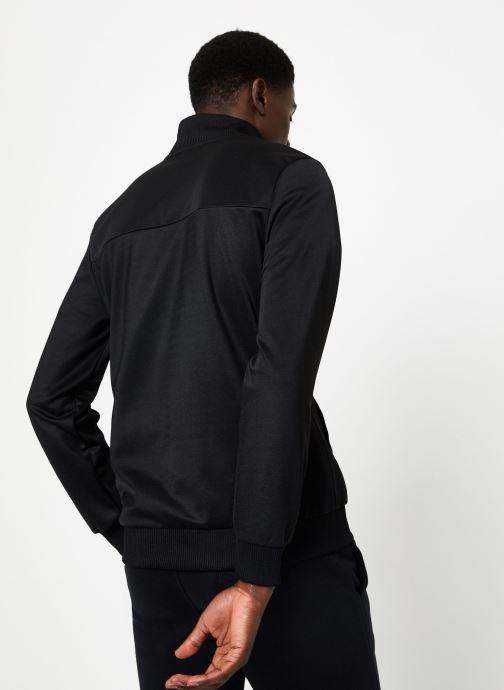 Vêtements Diadora Track Jacket 5Palle Noir vue portées chaussures