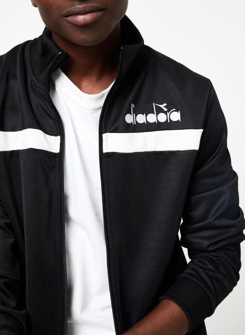 Vêtements Diadora Track Jacket 5Palle Noir vue face