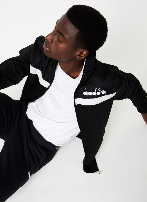 Vêtements Diadora Track Jacket 5Palle Noir vue détail/paire