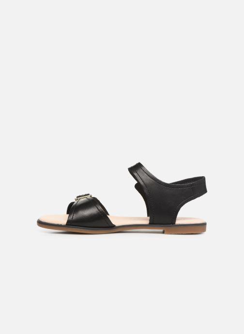 Sandales et nu-pieds Clarks BAY PRIMROSE Noir vue face