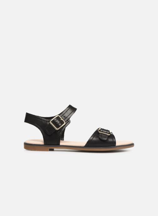 Sandales et nu-pieds Clarks BAY PRIMROSE Noir vue derrière