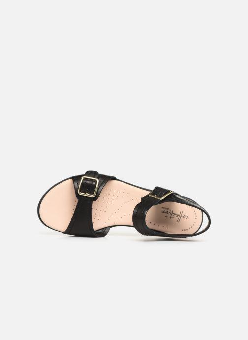 Sandales et nu-pieds Clarks BAY PRIMROSE Noir vue gauche