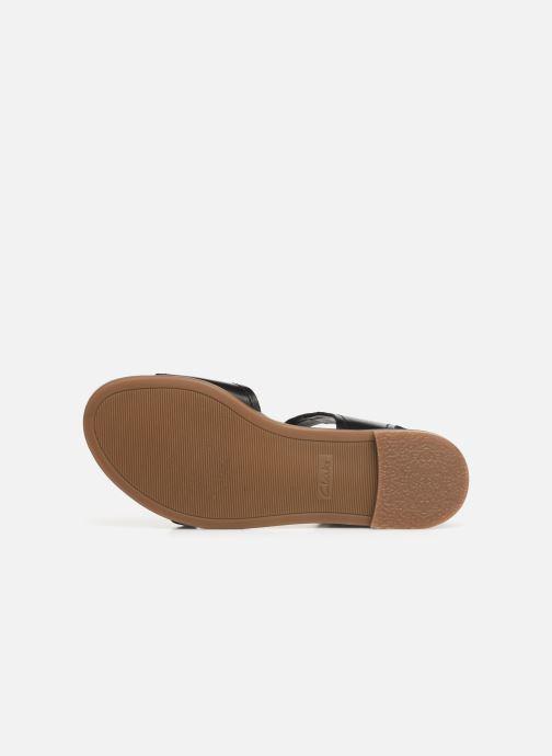Sandales et nu-pieds Clarks BAY PRIMROSE Noir vue haut