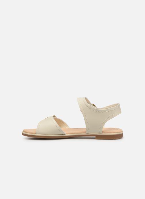 Sandali e scarpe aperte Clarks BAY PRIMROSE Bianco immagine frontale