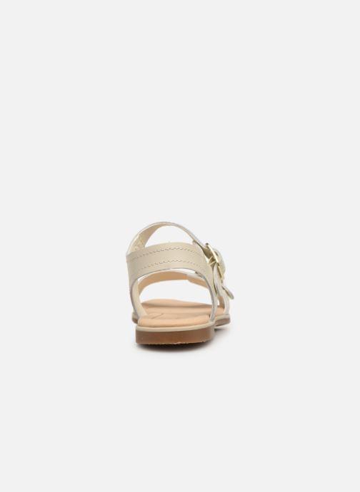 Sandales et nu-pieds Clarks BAY PRIMROSE Blanc vue droite