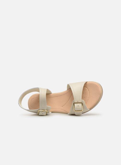 Sandales et nu-pieds Clarks BAY PRIMROSE Blanc vue gauche