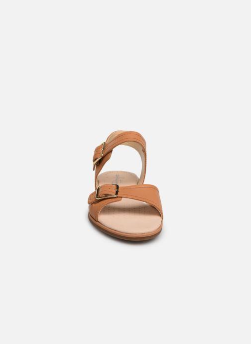 Sandaler Clarks BAY PRIMROSE Brun se skoene på