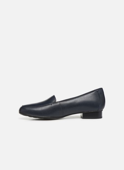 Loafers Clarks JULIET LORA Blue front view