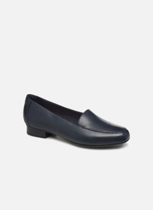 Loafers Clarks JULIET LORA Blue detailed view/ Pair view