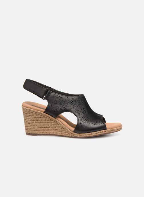 Sandales et nu-pieds Clarks LAFLEY ROSEN Noir vue derrière