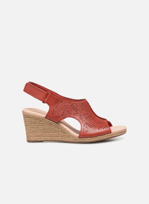 Sandales et nu-pieds Clarks LAFLEY ROSEN Bordeaux vue derrière