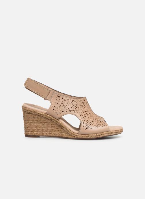 Sandales et nu-pieds Clarks LAFLEY ROSEN Beige vue derrière