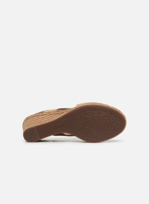 Sandales et nu-pieds Clarks LAFLEY ROSEN Beige vue haut