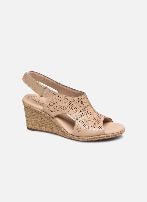 Sandaler Clarks LAFLEY ROSEN Beige detaljeret billede af skoene