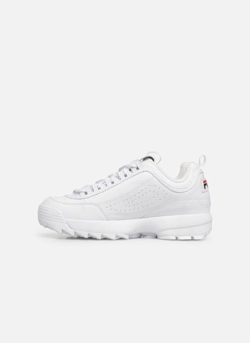 Sneaker FILA Disruptor Low M weiß ansicht von vorne